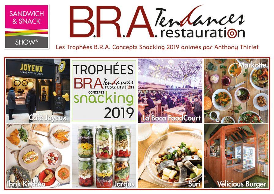 Trophées B.R.A. Concepts Snacking  2019