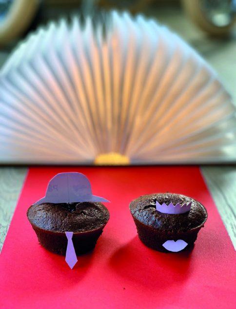 Notre coup de ♥Marion Escotte, PomacleMuffins VIP « coulant chocolat » sur le tapis rouge !