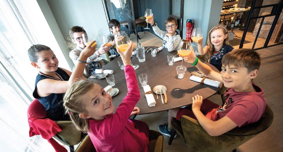 Le Mini Restaurant, une expérience gastronomique réservée aux 8-14 ans et préparée par Éric Delerue, chef du Cerisier en ville ©R.Wailliez